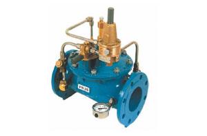 Válvula mantenedora de presión descargadora